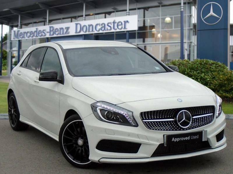 2015 mercedes benz a class a220 cdi amg night edition 5dr auto automatic hatchba in doncaster. Black Bedroom Furniture Sets. Home Design Ideas