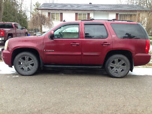 package deal, 07 yukon slt 4x4 and sled,sale or trade for diesel