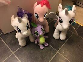 Build a bear my little ponies