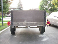 Utility Trailer 4 X 8 Fully Funtional