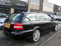 2009 Jaguar X-TYPE 2.2D DPF Auto SE 5DR 09 REG Diesel Black