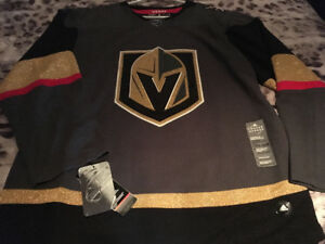 Brand NEW LAS VEGAS GOLDEN KNIGHTS OFFICIAL ADIDAS JERSEY