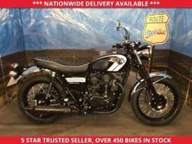 KAWASAKI W800 EJ 800 AGFA SPECIAL EDITION ONLY 65 MILES FROM NEW 2016 66