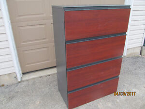 NEWER FILING CABINET WITH LOCKING DRAWERS