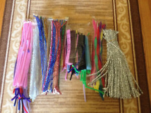 Lot of pipe cleaners