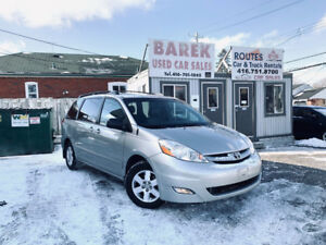 2008 Toyota Sienna LE Minivan | LEATHER BACK UP CAMERA CERTIFIED