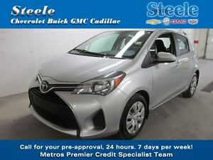 2015 Toyota YARIS LE One Owner, Fresh off lease...!!!