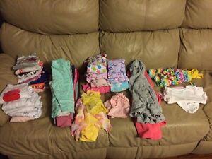 18 months toddler girl clothing lot
