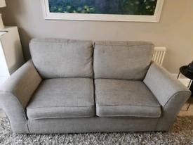M&S Lincoln sofa with ottoman