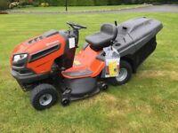 """Husqvarna TC142 Hydrostatic42"""" cut Ride on mower lawnmower"""