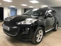 ***RESERVED***Peugeot 4007 2.2HDi GT 4X4 7 SEATER SUV DIESEL BLACK WARRANTY