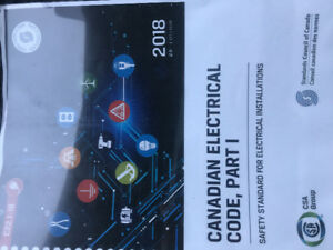 Electrical code book 2018 hard copy