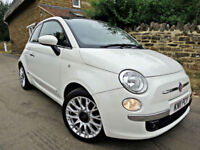 2011 FIAT 500C 1.2 LOUNGE CONVERTIBLE TOP. GREAT SPEC!!