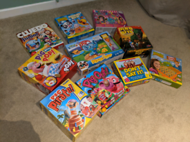 Bundle of children's games/board games