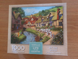 By the river puzzle 1000 pieces