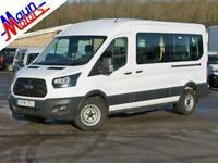 2018 Ford Transit T410 TDCi 155PS, 14 Seat Minibus, Euro 6, Air Con, Bluetooth,