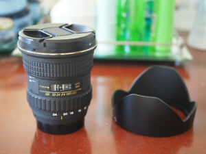 Tokina 12-24mm f/4 Aspherical AT-X Pro IF DX SD - nikon mount