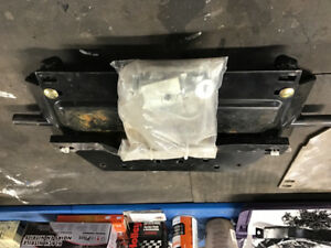 Can am commander plow blade attachment
