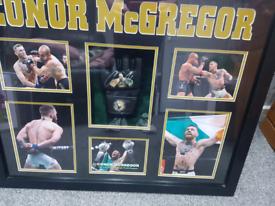 Conor McGregor signed glove