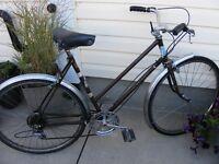 2 bicycles - Ladies Raleigh and Ladies Ventura