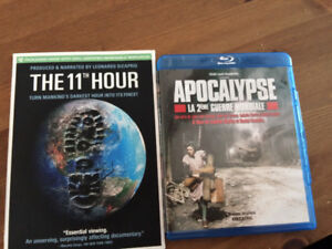 Apocalypse Collection DVD blu-ray + film the 11th hour