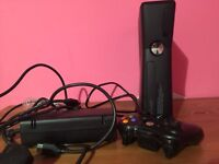 Xbox 360 250gb and controller
