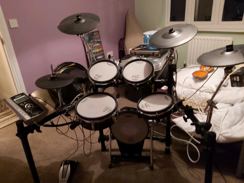 Roland TD9 with KD120 upgraded bass drum trigger for sale   | in East  Ardsley, West Yorkshire | Gumtree