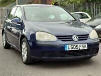 2005 Volkswagen Golf 1.6 FSI SE 5dr Hatchback Petrol Automatic