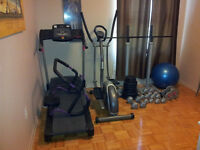 Weights,treadmill and much more