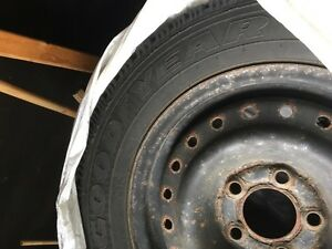 Goodyear Nordic Winter Tire set P215/60R15 set for sale.