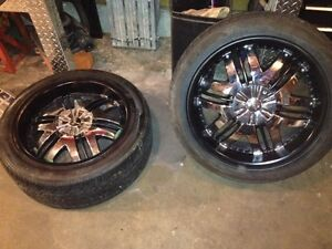Six bolt Chevy rims make me an offer you never know