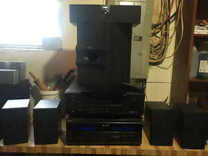 Rca surround reciever, CD player and speakers