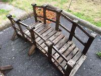 Beautiful handmade wooden bridges only £60 each