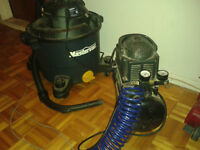 air compressor & dry wet vacuum