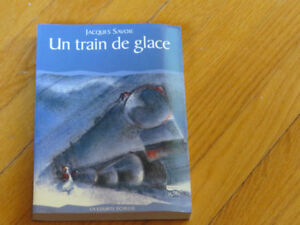 --TRAIN DE GLACE  / SAVOIE littérature auteur