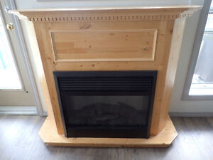 Electric fireplace heater