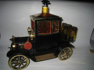 Royal Craft Musical Box Liquor Decanter In Ford Model T Design