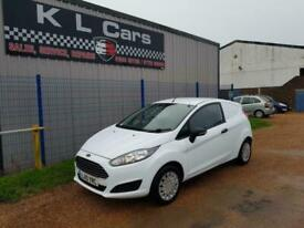 2015 Ford Fiesta 1.6 TDCi ECOnetic ONE OWNER NO VAT SMALL CAR DERIVED VAN Diese