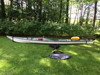 Kayak de mer Boreal Design Nanook avec equipements.