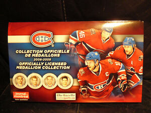 2008-2009 MONTREAL CANADIENS MEDALLION COLLECTION West Island Greater Montréal image 1
