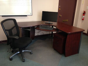 Office furniture extravaganza!