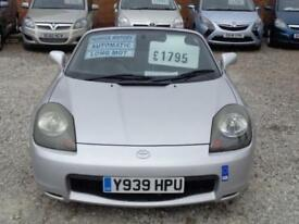 2001 TOYOTA MR2 Roadster Smt H t 1.8 Auto