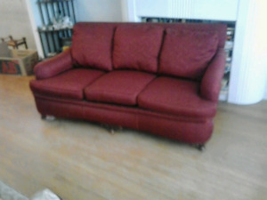 TWO  Excellent Condition Couches and a Chair