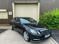 (12) 2012 Mercedes-Benz E350 CDI BlueEFFICIENCY Sport 4dr Tip Auto Black Saloon