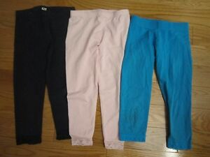 Children`s Place Capris size 5-6 -Navy, light pink and turquoise