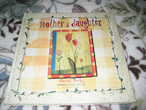 Mother & Daughter keepsake book - gift giving condition Windsor Region Ontario image 1