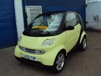 Smart Car - WITH YEARS MOT – Semi Auto – 599cc – CHEAPER TO INSURE & TAX £30