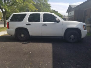 CHEVY TAHOE POLICE PACKAGE