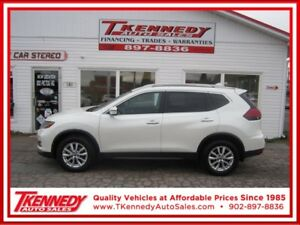 2017 NISSAN ROGUE SV AWD $25,877.ONLY $199.00 B/W OAC