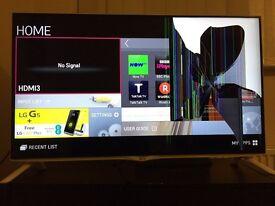 LG 40 inch 4K TV 40UB800V Damaged